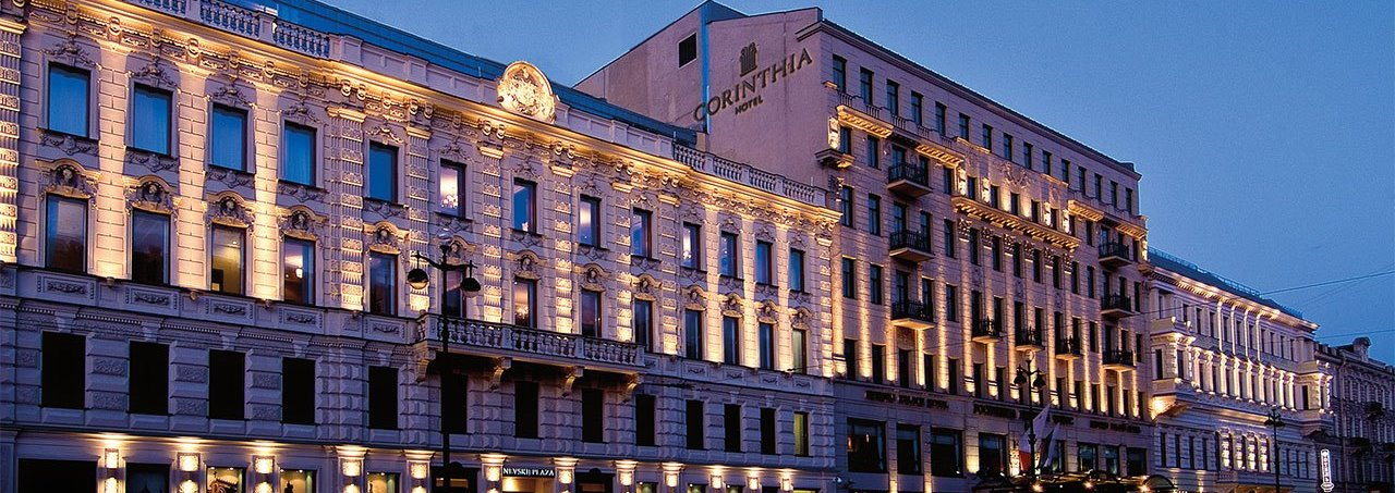 Five Star Corinthia Hotel - ST.Petersburg / Russian Federation