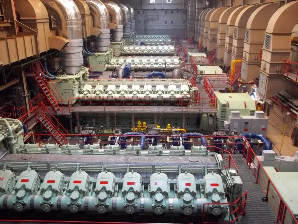 Karadeniz Power Ship Kps 6 Irem Sultan 110 Mw On Dual