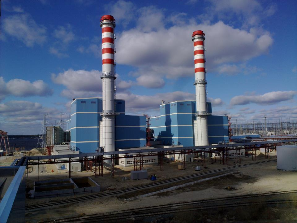 Surgut Power Plant 2x400mw Natural Gas Combined Cycle