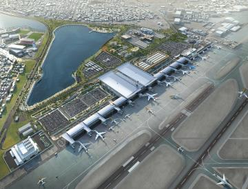 Bahrain International Airport Modernization Project - 330.000 m2
